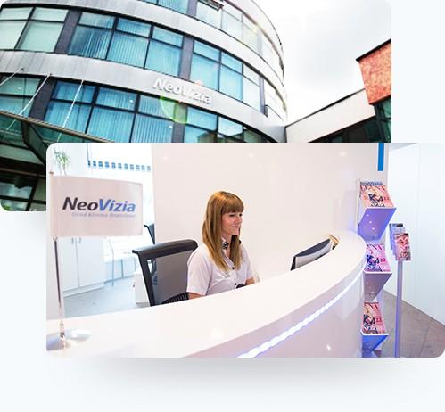 Kontakt zur Augenklinik Bratislava NeoVizia